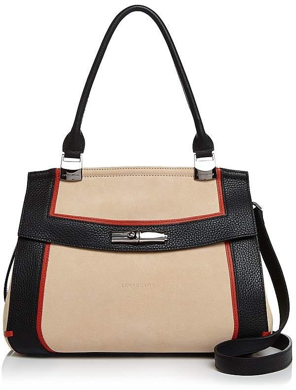 Longchamp Madeline Handbag - NUDE BEIGE/GUNMETAL - STYLE