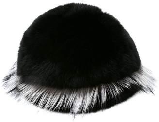 Gigi Burris Millinery Freja fox fur cap