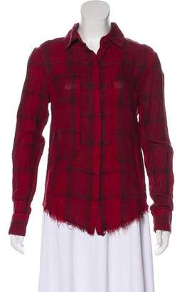 RtA Denim Linen Button-Up
