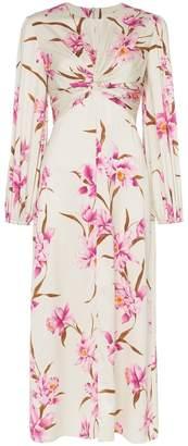 Zimmermann Corsage floral print midi dress