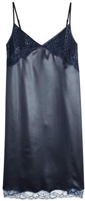 Nina Ricci Slip Dress with Lace