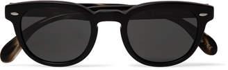 Oliver Peoples Sheldrake Square-Frame Acetate Sunglasses - Men - Black