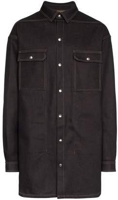 Rick Owens Denim Shirt Jacket