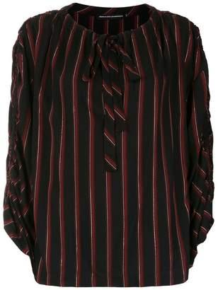 715d7a663 Reinaldo Lourenço striped tie neck blouse