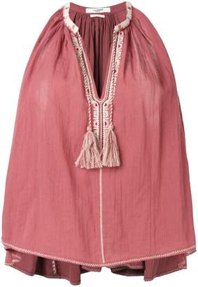 Etoile Isabel Marant tassel-detail flared top