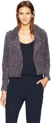 Blank NYC [BLANKNYC] Women's SUEDE MOTO Outerwear,