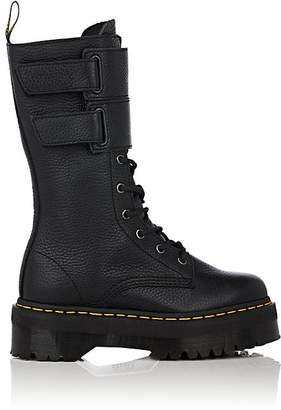 Dr. Martens Women's Jagger Leather Lace-Up Platform Boots