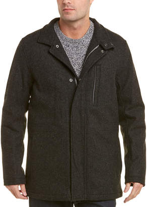 Brooks Brothers Wool-Blend Walking Coat