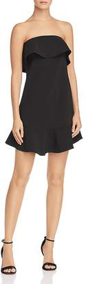 Aqua Ruffled Strapless Dress - 100% Exclusive