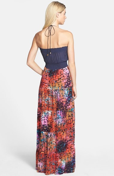 T-Bags Tbags Los Angeles Embellished Maxi Dress