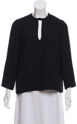 Rachel Comey Cutout Long Sleeve Top
