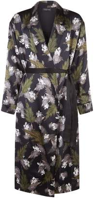 Meng Printed Silk Dressing Gown