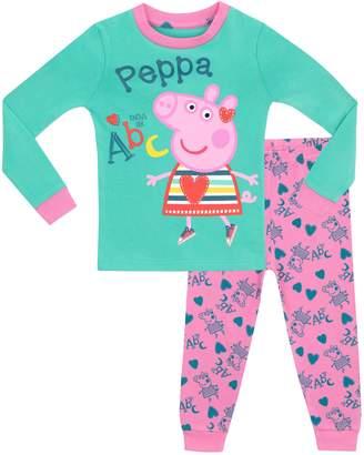 Peppa Pig Girls' Peppa Pajamas