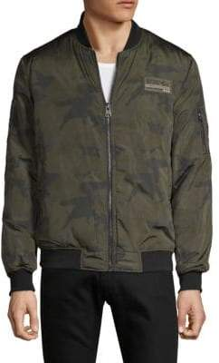 Buffalo David Bitton Jachimo Camo Bomber Jacket
