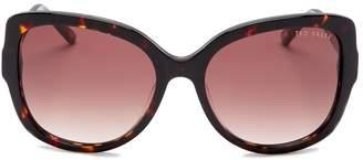 Ted Baker Full Rim Modified Round Sunglasses