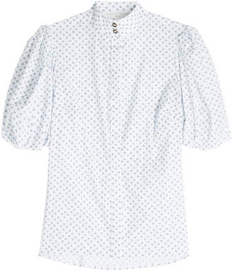 Caroline Constas Printed Cotton Shirt