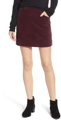 AG Jeans Bernadette Corduroy Miniskirt