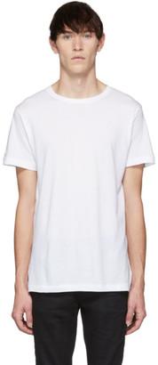 John Elliott White Classic Crew T-Shirt