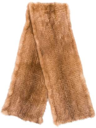 Liska long fur scarf