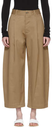 Studio Nicholson Tan Bonnard Trousers