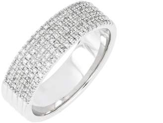 Carriere JEWELRY Wide Diamond Pave Ring