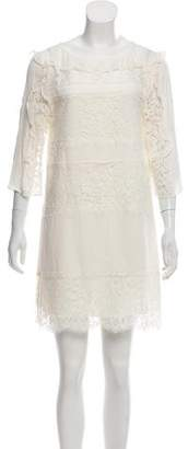 Rachel Zoe Silk Lace Mini Dress w/ Tags