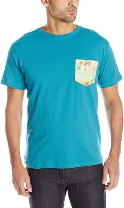 Margaritaville Men's Short Sleeve No Shoes Pocket T-Shirt