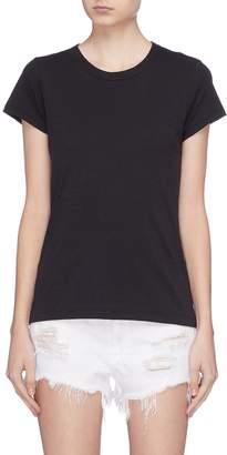 Rag & Bone 'The Tee' Pima cotton slub jersey T-shirt