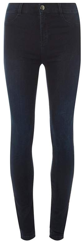 Tall Blue And Black Frankie Jeans