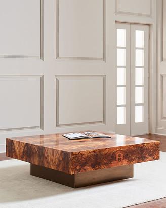 John-Richard Collection John Richard Collection Britten Square Coffee Table