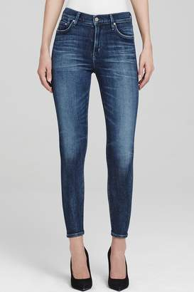 Citizens of Humanity Rocket-Crop High-Rise Skinny