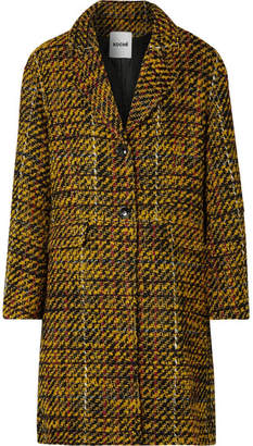 Koché - Taylor Oversized Tweed Coat - Yellow