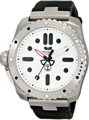 Vestal Men's RSD3S01 Restrictor Diver 50 Black Silver Watch