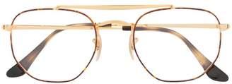 Ray-Ban tortoiseshell effect glasses