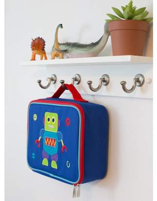 Olive Kids Wildkin Robot Embroidered Lunch Box