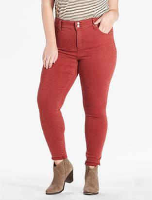 Lucky Brand EMMA SUPER SKINNY JEAN IN BRICK RED