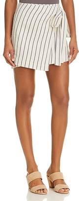 Theory Wrap Mini Skirt