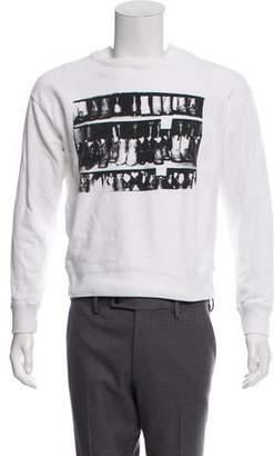 Calvin Klein x Andy Warhol Woven Crew Neck Sweater