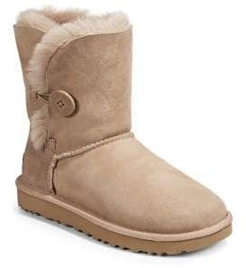 UGG Bailey Button Sheepskin-Lined Boots