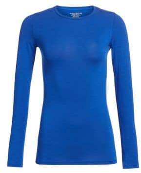 Majestic Filatures Soft Touch Long-Sleeve Top
