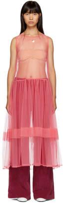 Molly Goddard Pink Eve Dress