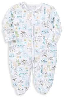 Kissy Kissy Baby's In The Jungle Graphic Footie