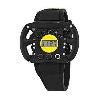 Ferrari Scuderia Quartz Resin and Silicone Casual Watch