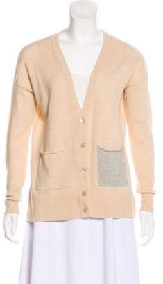 Autumn Cashmere Cashmere Button-Up Cardigan