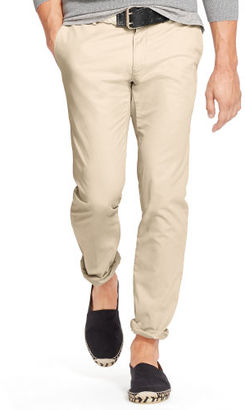 Polo Ralph Lauren Slim-Fit Pima Cotton Chino $145 thestylecure.com