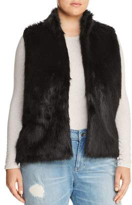 MICHAEL Michael Kors Faux Fur Sweater-Back Vest