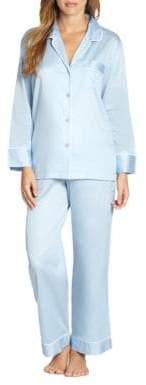 Natori Cotton Sateen Pajamas