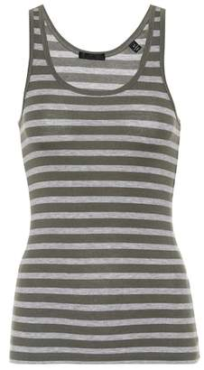 ATM Anthony Thomas Melillo Striped jersey tank top