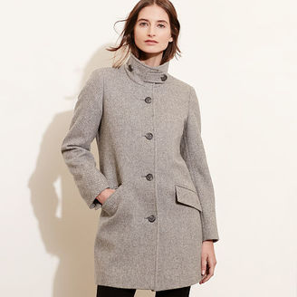 Ralph Lauren Wool-Blend A-Line Coat $350 thestylecure.com