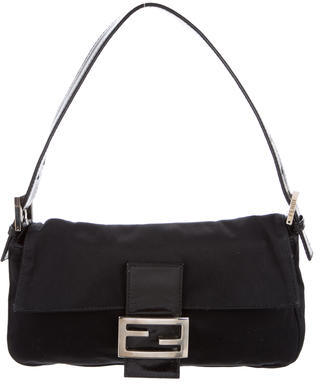 Fendi Fendi Satin Baguette Bag
